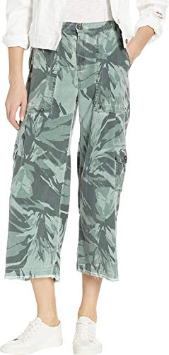 (XCVI Women's Country Culotte-Equinox Camo Oil Wash Arbor X-Large 23.5)