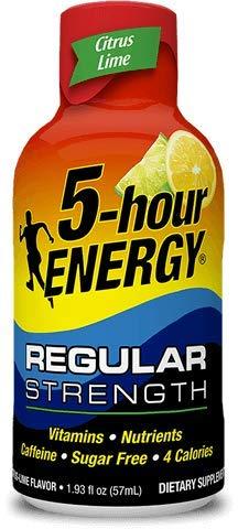 5 Hour Energy Drink Shot 1.93 fl. oz, Citrus Lime, 12 Count ()
