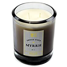 Aromatic Candle With Rich Fragrance Smoked Birch and Myrrh 14oz