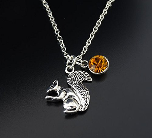 Amazon squirrel necklace squirrel charm squirrel pendant squirrel necklace squirrel charm squirrel pendant squirrel jewelry chipmunk necklace chipmunk aloadofball Image collections