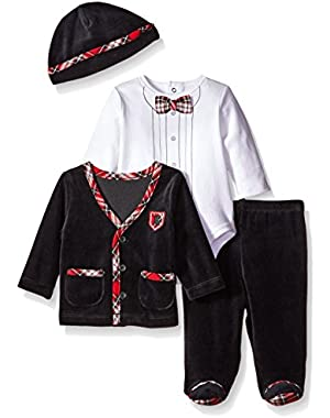 Baby Boys' Charmer 4 Piece Jacket Set