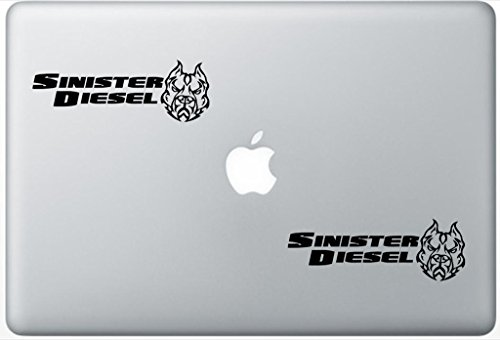 Sinister Diesel ArcDecals78602646 Set Of Two (2x) , Decal , Sticker , Laptop , Ipad , Car , Truck