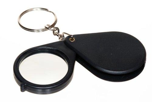 (SE - Magnifier - Folding with Keychain, Black, 5x - MI118B72-1)