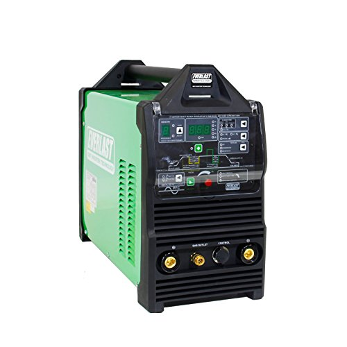 2018 Everlast PowerTIG 210EXT 210amp Ac Dc Tig Stick Advance Pulse Welder 110/220 Volt Inverter-based IGBT Technology