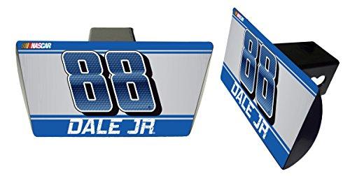 Dale Earnhardt Jr #88 Metal Trailer Hitch Cover