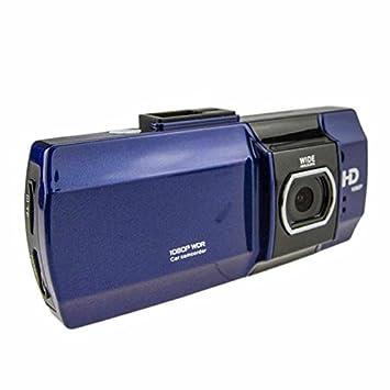 Cebbay Camara de Coche Pantalla LCD HD 1080p de 2,7 Pulgadas Lente Gran Angular de 180 Grados Videograbadora de visión Nocturna Función Sensor g: Amazon.es: ...