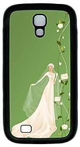 Samsung Galaxy S4 Case Customized Unique Print Design Beautiful Bride Case Cover For Samsung Galaxy S4
