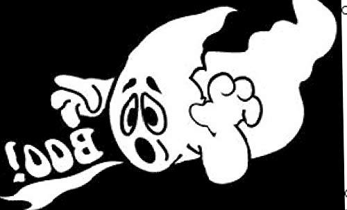 Ghost Cowboys Halloween - Hebel 3x5 Halloween Ghost Boo Boo! Flag 3x5 House Banner Grommets | Model FLG - 1647