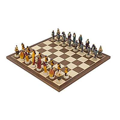 Regencychess Medieval Hand Painted Themed Chess Set by Italfama