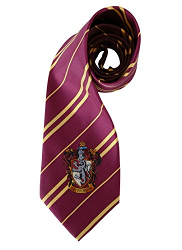 elope Lu2380 Harry Potter Necktie, Gryffindor Red -