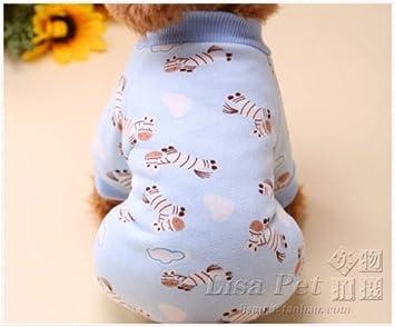Amazon.com: FidgetGear - Mono cálido para perro, ropa para ...