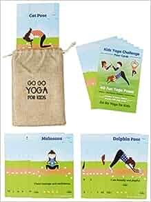 Amazon.com: Kids Yoga Challenge Pose Cards (9780998213194 ...