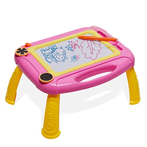 LODBY Cute Magnetic Drawing Board Doodle Sketch Pad for Toddler Girls/Boys