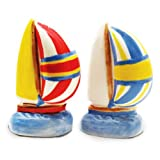 Nautical Spinnakers Sailboat Salt & Pepper Shaker S/P Set