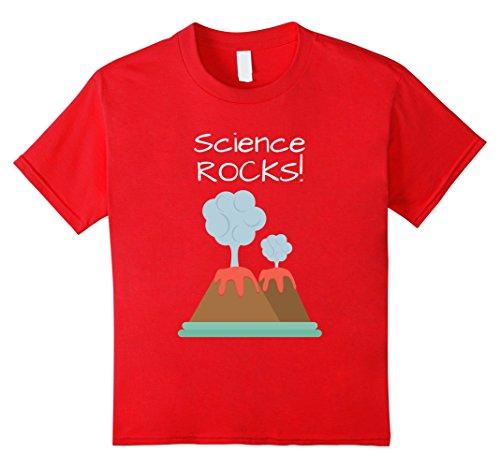 Kids Science Rocks Volcano Tshirt 8 (Science Rocks T-shirt)