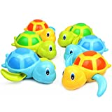 6 Pack Swimming Turtles Floating Wind-Up Bath Water Toy Party Favors