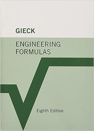 Engineering Formulas: Kurt Gieck, Reiner Gieck