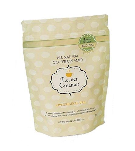 Leaner Creamer: Natural Coconut Oil Based Coffee Creamer – Original (280 Refill Pouch)