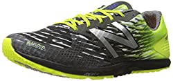 New Balance Men's 900v3 Cross-Country Track Spike, Black/Blue, 13 D US