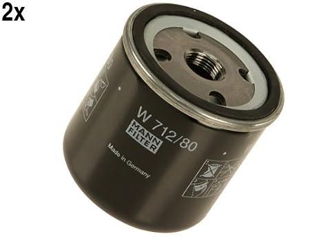 Saab 93 95 900 9000 Motor Filtro de aceite (Lot 2) Mann: Amazon.es: Coche y moto