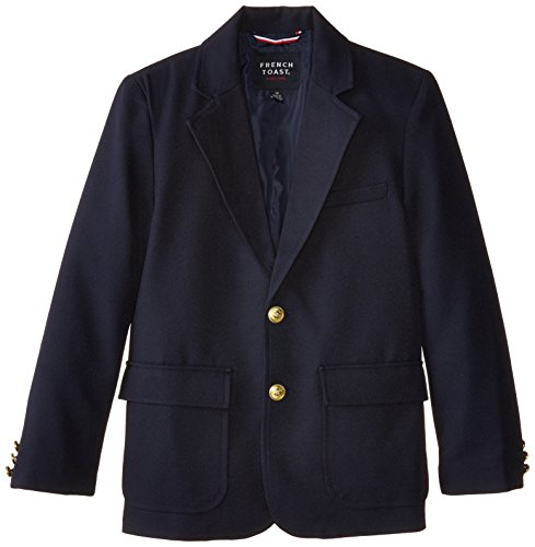 French Toast Big Boys' School Blazer, Navy, 12 by French Toast