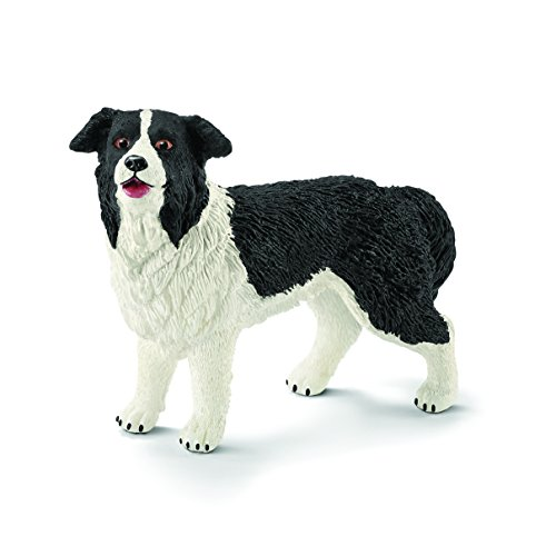 Schleich North America Border Collie Toy Figure