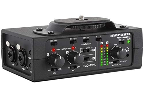Pmd602A 2Channel Dslr Audio