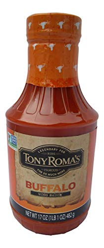 Tony Roma's Buffalo Flavored Barbecue Sauce, BBQ, 17 Ounces