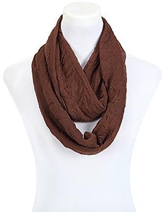 3d11c8d72d3 écharpe femme tube loop foulard marron  Amazon.fr  Vêtements et accessoires