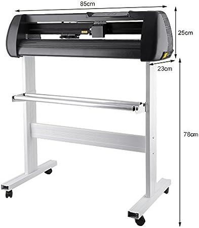 cnmodle 100 – 240 V USB interfaz cortador de vinilo Plotter de Corte de signo de vinilo para hacer cortador de señal con soporte – Rollo Máquina: Amazon.es: Deportes y aire libre