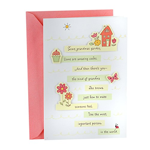 Hallmark Mother's Day Greeting Card for Grandmother (One of the Best Grandmas Ever)