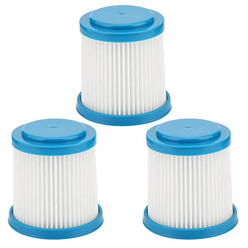 isinlive VPF20 Replacement Filters Compatible with Black and Decker Vacuum 3 Packs