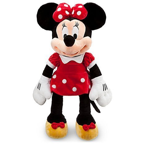 Disney Exclusive Large RED Minnie Mouse Plush Toy -- 27'' H by Disney by Disney - Exclusive Minnie Mouse