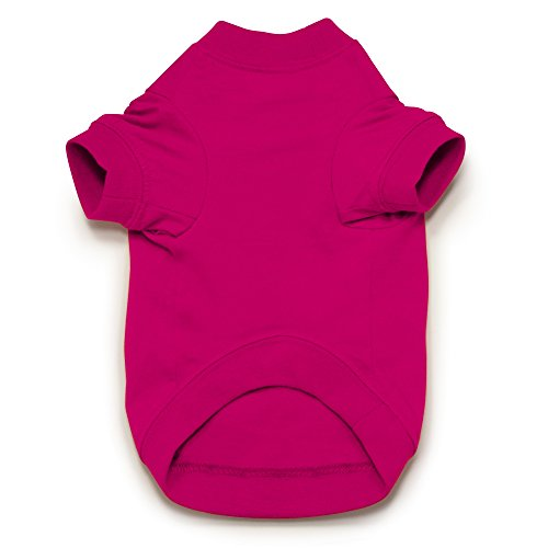 Zack & Zoey Basic Tee Shirt for Dogs,16''  Medium, Pink by Zack & Zoey (Image #2)