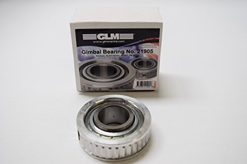 Glm Marine (GIMBAL BEARING MERCRUISER, OMC, VOLVO PENTA | GLM Part Number: 21900; Sierra Part Number: 18-2100; Mercury Part Number: 30-60794A4; OMC Part Number: 983937; Volvo Part Number:)