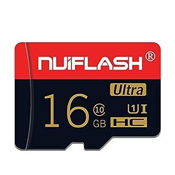 Amazon.com: Nuiflash NF-TF 01 C10 - Tarjeta de memoria TF ...