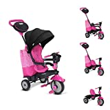 smarTrike 6500600 Swing DLX Children's Tricycle, Pink