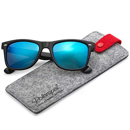 (Polarspex Polarized 80's Retro Classic Trendy Stylish Sunglasses for Men Women)