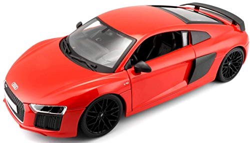 Maisto Premiere Edition 2015 Audi R8 Diecast Vehicle (1:18 Scale), Red