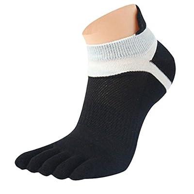 Clearance!Men Mesh Meias Sports Running Five Finger Toe Socks Funny Sports Socks