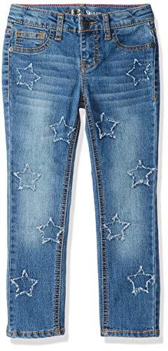 (LEE Girls' Little Fashion Skinny Jean, Star Meadow Blu, 4)