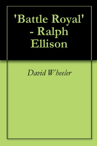 Can someone help review my essay on Battle Royal by Ralph Ellison?