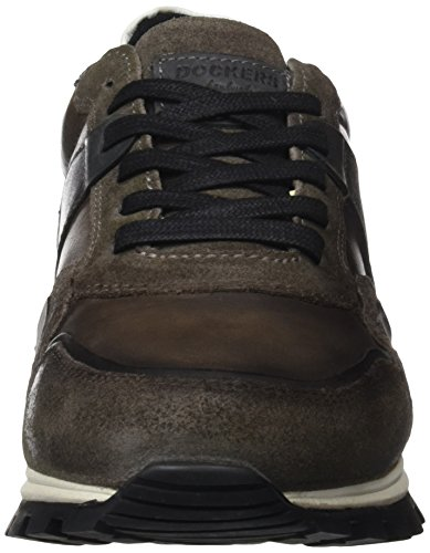 Dockers by Gerli Men's 41jf008-208 Trainers Grey (Dunkelgrau/Schwarz 221) outlet shop for discount 2015 new cheap sale pictures 5XICZoQO