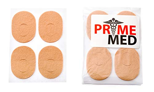 Bunion Pads - 24 Pack of Flesh-Colored Orthopedic Foot Pedi Pads with Adhesive Backing