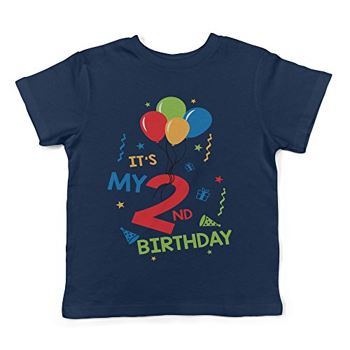 Lil Shirts It's My 2nd Birthday Toddler T-Shirt