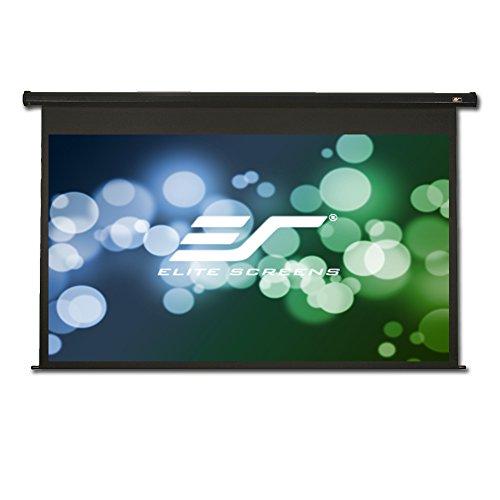 Elite Screens Spectrum, 125-inch Diag 16:9, Moiré-Free Electric Motorized Sound Transparent 4K/8K Ready Drop Down Projector Screen, ELECTRIC125H-AUHD (Screen Audio Projection)