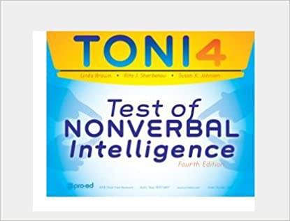 TONI-IV Test of Nonverbal Intelligence IQ Test Latest