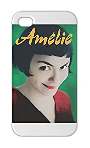 Amelie Poster With Logo Iphone 5-5s plastic case