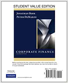 corporate finance by jonathan berk and peter demarzo pdf