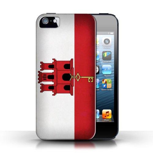 Etui / Coque pour Apple iPhone 5/5S / Gibraltar conception / Collection de Drapeau